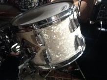 Rogers 1980 drumkit - ex drumkit of Platinum Blonde's original drummer
